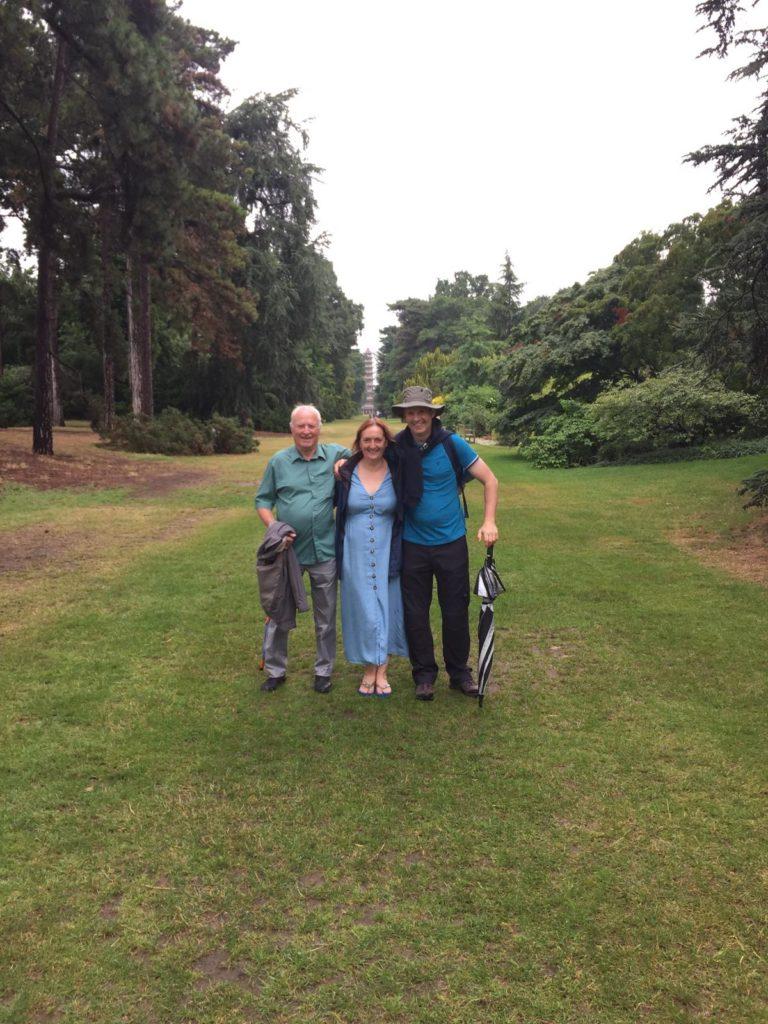 Gwyneth, Lionel and Ian enjoying Kew Gardens